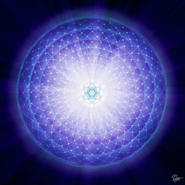 Digital Art - Sacred Geometry 59 by Endre Balogh