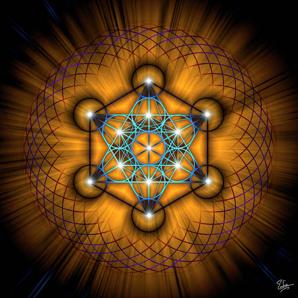 Digital Art - Sacred Geometry 68 by Endre Balogh