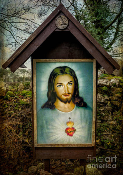 Sacred Heart Wall Art - Photograph - Sacred Heart Of Jesus by Adrian Evans