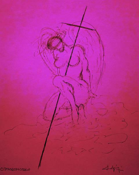 Drawing - Sacred IIi by Giorgio Tuscani
