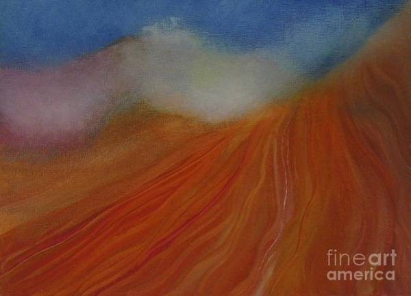 Wall Art - Painting - Sacred Mist by Jane Ubell-Meyer