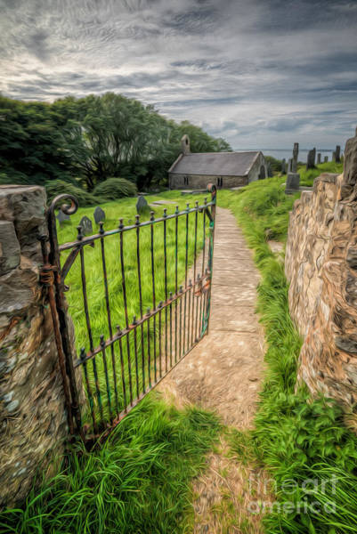Cemetaries Wall Art - Photograph - Sacred Path by Adrian Evans