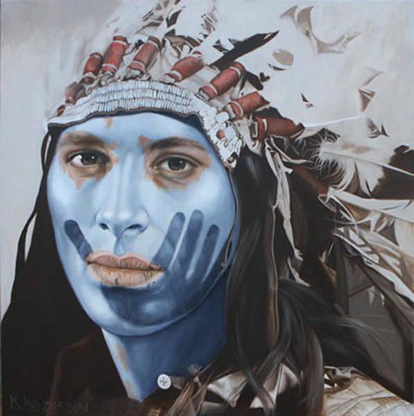 Wall Art - Painting - Sacred Spirit By K Henderson  by K Henderson