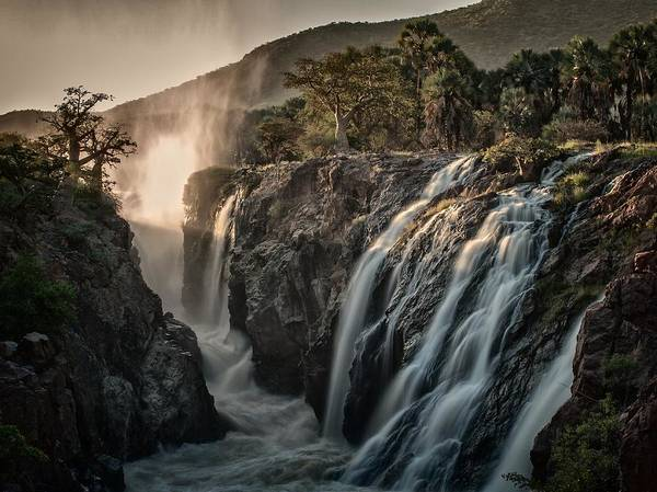 Water Fall Photograph - Sacred Waterfalls by Pavol Stranak