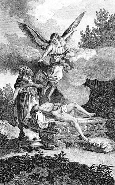 Hebrews Photograph - Sacrifice Of Isaac by Collection Abecasis/science Photo Library