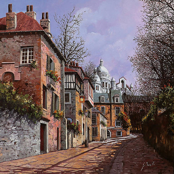 French Painting - Sacro Cuore by Guido Borelli