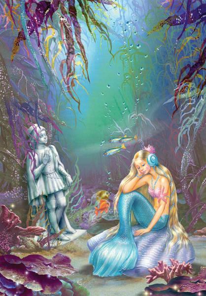 Little Mermaid Wall Art - Photograph - Sad Little Mermaid by MGL Meiklejohn Graphics Licensing