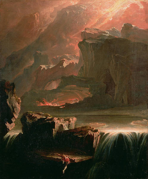 Wall Art - Painting - Sadak In Search Of The Waters by John Martin