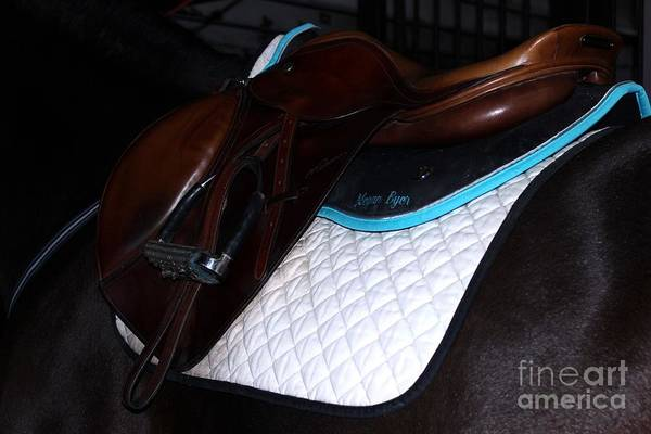 Photograph - Saddle And Pads by Janice Byer