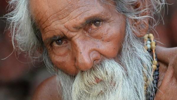 Photograph - Sadhu 34 - Rishikesh India by Kim Bemis