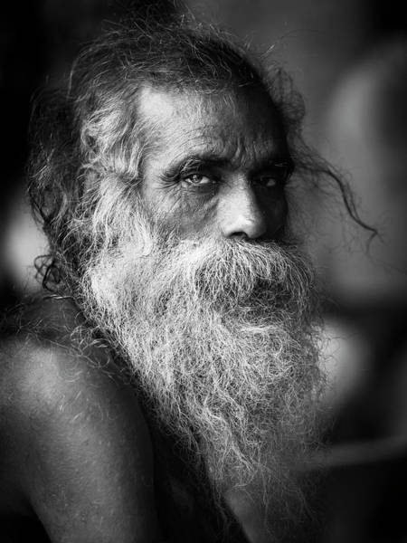 Wall Art - Photograph - Sadhu by Gonzalo S??enz De