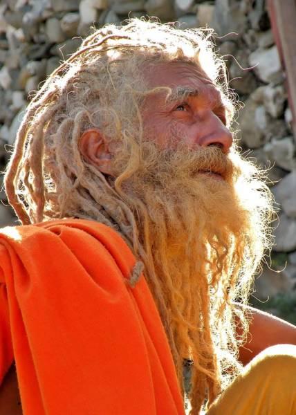 Photograph - Sadhu Of India 1 by Kim Bemis