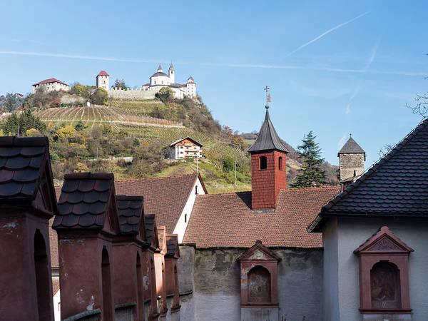 Crossroads Photograph - Saeben Monastery Near Klausen by Martin Zwick