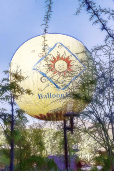 Digital Art - Big Balloon by Photographic Art by Russel Ray Photos