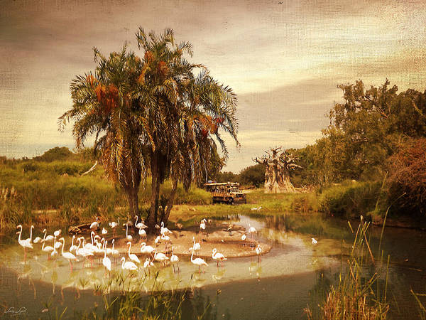 Disney World Photograph - Safari Ride by Lourry Legarde