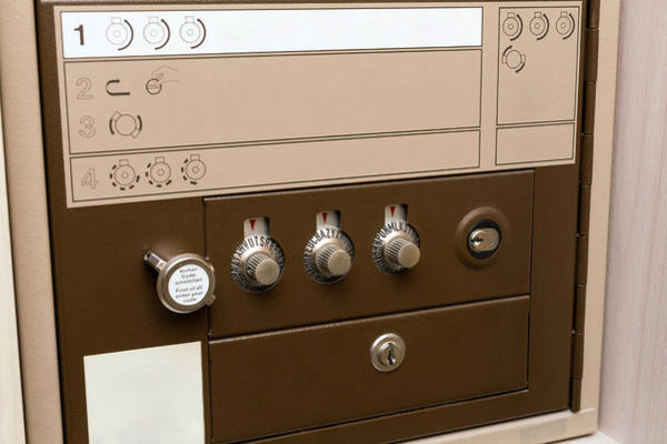 Deposit Photograph - Safe Deposit Box by Wladimir Bulgar