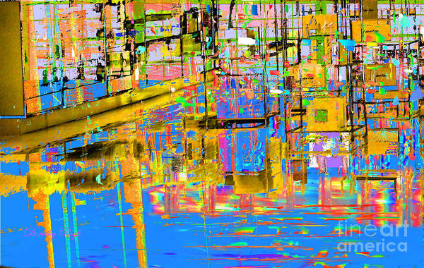 Digital Art - Safe Harbor by Dorothy  Pugh