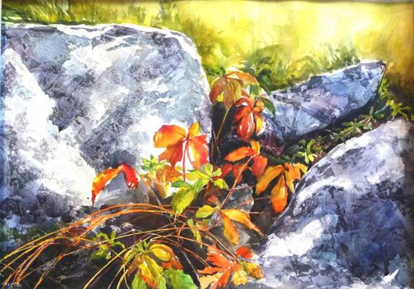 Painting - Safe Haven by Betty M M   Wong