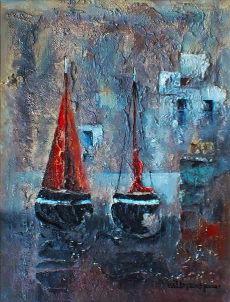 Safe Painting - Safe Haven by Val Byrne