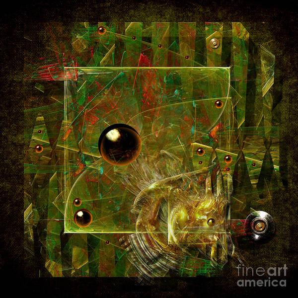 Digital Art - Safe Lock by Alexa Szlavics
