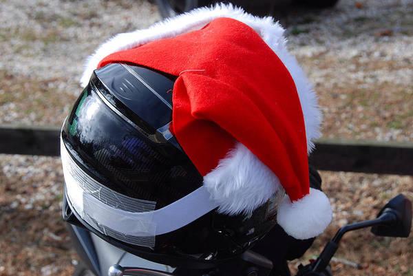 John Schneider Wall Art - Photograph - Safety First Santa by John Schneider