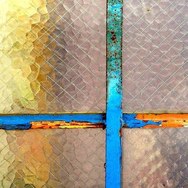Wall Art - Photograph - Safety Glass by Julie Gebhardt