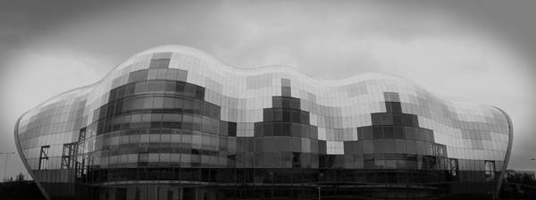 Newcastle Digital Art - Sage Theatre by Jonathan Parkes