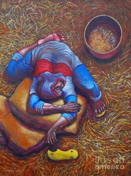 Wall Art - Painting - Saglit Lang Apo by Paul Hilario