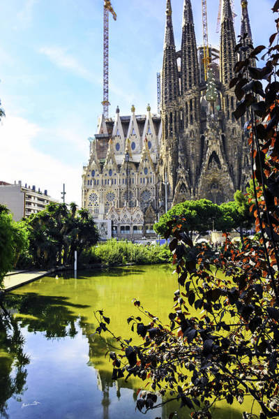 Wall Art - Photograph - Sagrada Familia - Barcelona - Spain by Madeline Ellis