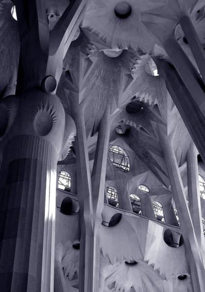Photograph - Sagrada Familia Vault by Michael Kirk