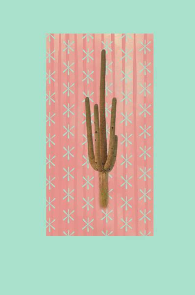 Wall Art - Painting - Saguaro Cactus by Ramona Murdock