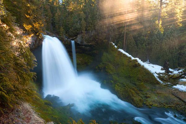 Photograph - Sahalie Falls by Andrew Kumler