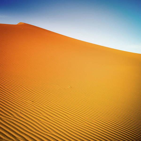 Berber Wall Art - Photograph - Sahara Desert Sand Dunes by Moreiso