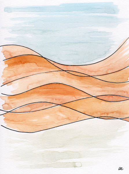 Painting - Sahara Sand Dunes by Anna Elkins