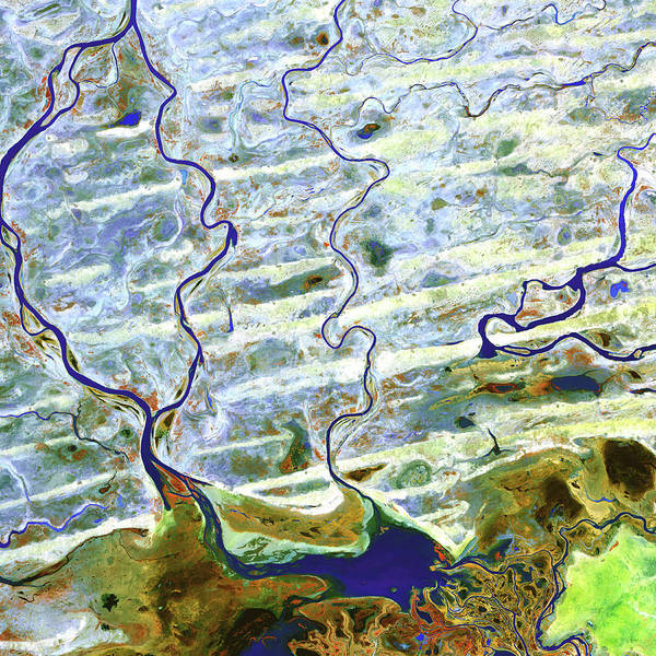 Wall Art - Photograph - Saharan Desert Rivers by Nasa