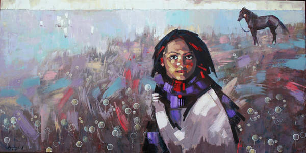 Wall Art - Painting - Sail  by Anastasija Kraineva