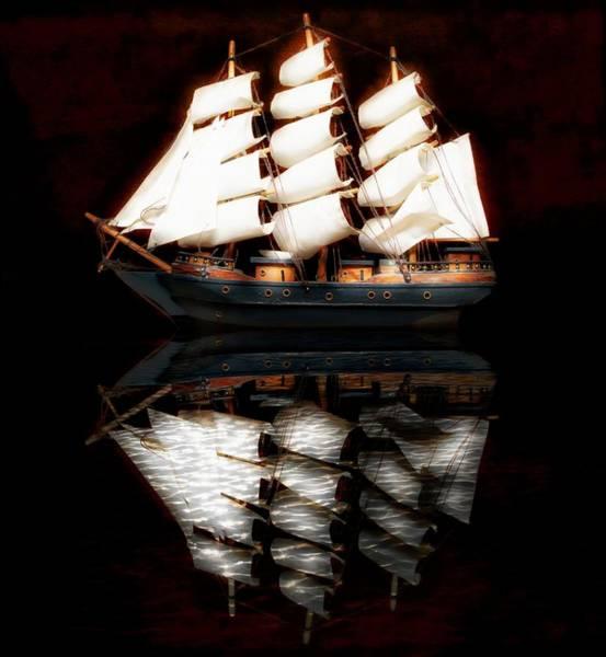 Sailboat Mixed Media - Sail Away by Aaron Berg
