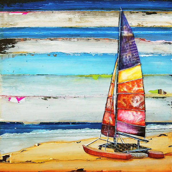 Wall Art - Mixed Media - Sail Away by Danny Phillips