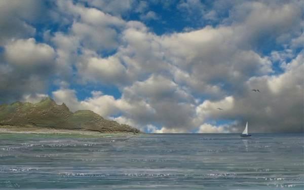 Digital Art - Sail Away by Tony Rodriguez