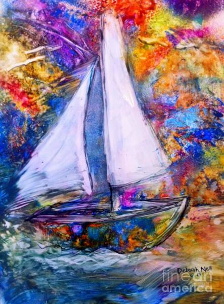 Painting - Sail On by Deborah Nell