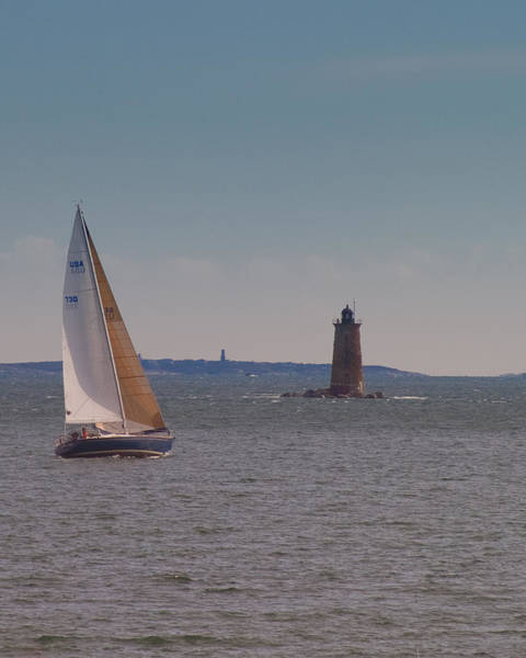 Photograph - Sail On The Tide by Jeff Folger