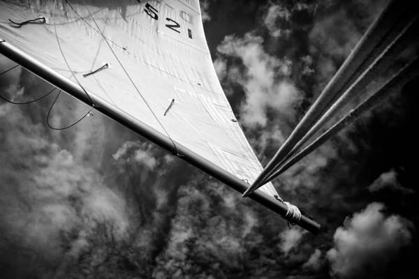 Rigging Photograph - Sail by Stelios Kleanthous