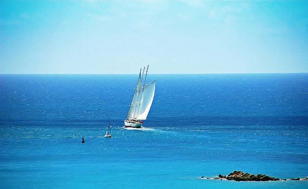 Turqoise Photograph - Sail The Ocean Blue by Aimee L Maher ALM GALLERY