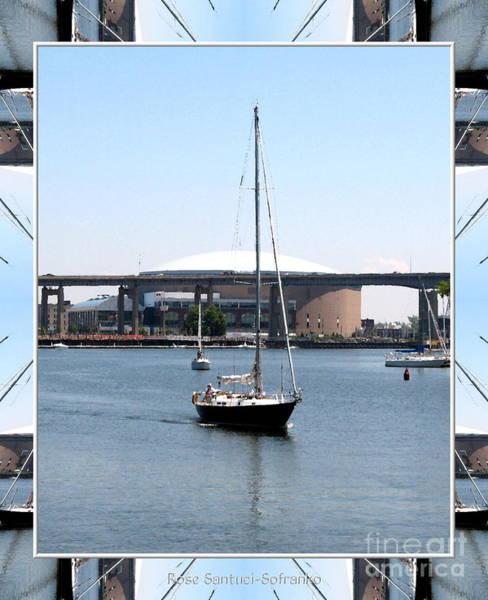 Photograph - Sailboat At Erie Basin Marina In Buffalo New York by Rose Santuci-Sofranko