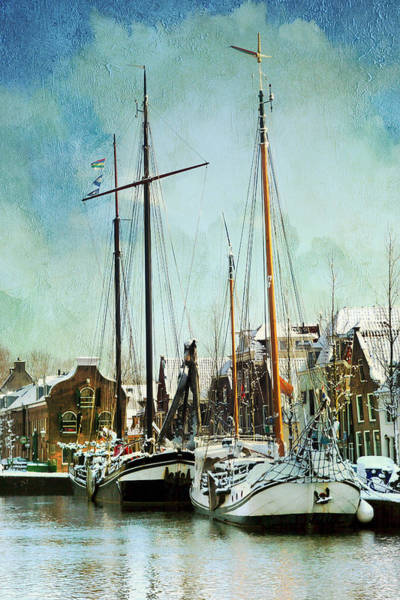 Photograph - Sailboats by Annie Snel