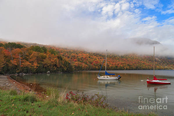 Photograph - Sailboats On Lake Willoughby by Charles Kozierok