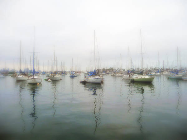 Photograph - Sailboats On San Diego Bay by Gigi Ebert