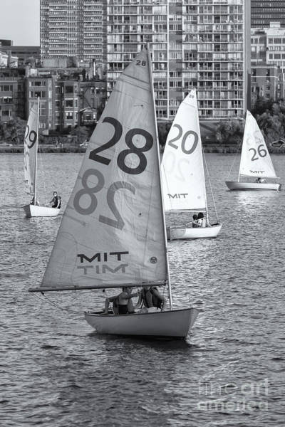 Photograph - Sailboats On The Charles River II by Clarence Holmes