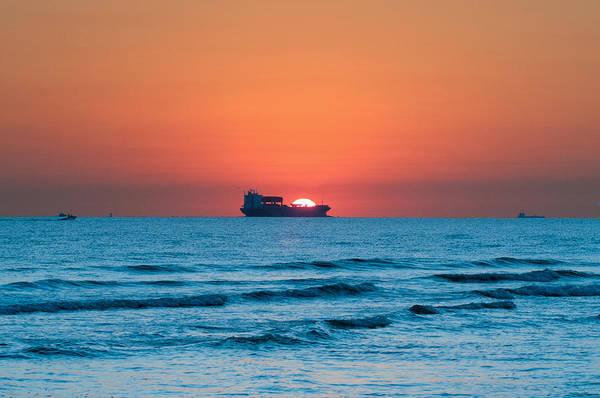 Sailing Across The Sun Art Print