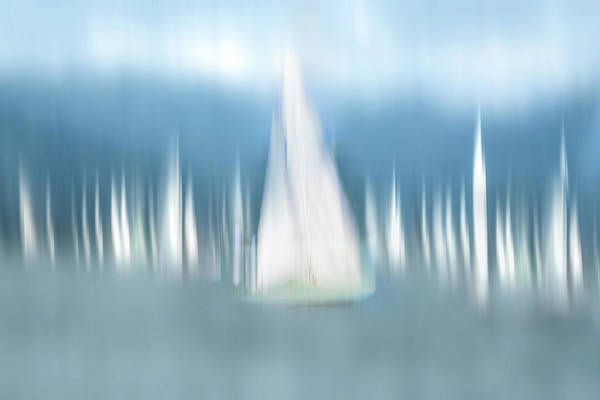 Sail Boat Photograph - Sailing by Anette Ohlendorf